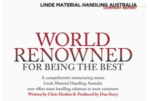 Business Review Australia-company profile-Linde Material Handling