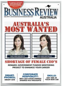 Business Review Australia-Shortage of Women CEOs