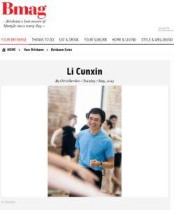 Bmag-Li Cunxin
